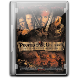 256x256px size png icon of Pirates Of The Caribbean The Curse Of The Black Pearl