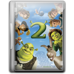 256x256px size png icon of Shrek 2