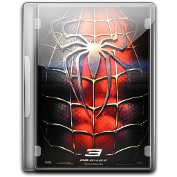 256x256px size png icon of Spiderman 3 v3