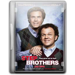256x256px size png icon of Step Brothers