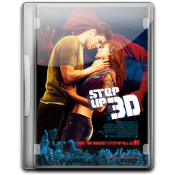 256x256px size png icon of Step Up 3D
