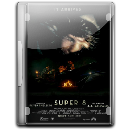 256x256px size png icon of Super 8 v4