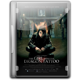 256x256px size png icon of The Girl With The Dragon Tattoo