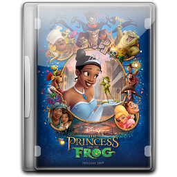 256x256px size png icon of The Princess And The Frog