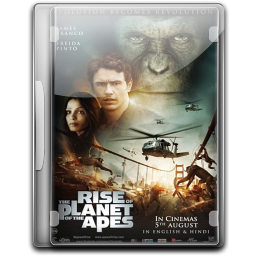 256x256px size png icon of The Rise Of The Planet Of The Apes v2