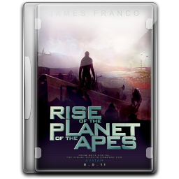 256x256px size png icon of The Rise Of The Planet Of The Apes v3