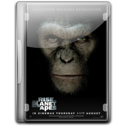256x256px size png icon of The Rise Of The Planet Of The Apes v4