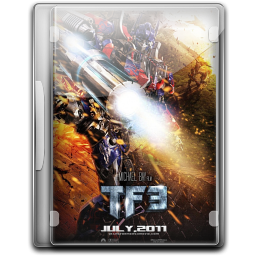 256x256px size png icon of Transformers 3 Dark Of The Moon v10