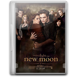 256x256px size png icon of Twilight New Moon v3
