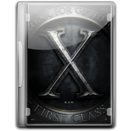 256x256px size png icon of X Men First Class v2