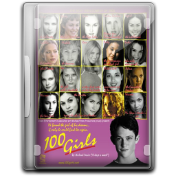 256x256px size png icon of 100 Girls v3