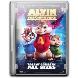 256x256px size png icon of Alvin And The Chipmunks 3 v2