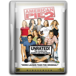 256x256px size png icon of American Pie 2 Unrated v1