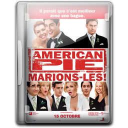 256x256px size png icon of American Pie The Wedding v1
