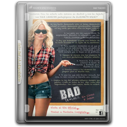 256x256px size png icon of Bad Teacher v3
