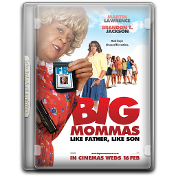 256x256px size png icon of Big Mommas House 3 v1