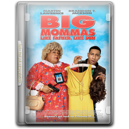 256x256px size png icon of Big Mommas House 3 v3