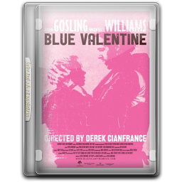 256x256px size png icon of Blue Valentine v2