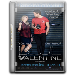 256x256px size png icon of Blue Valentine v4
