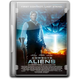256x256px size png icon of Cowboys Aliens v4
