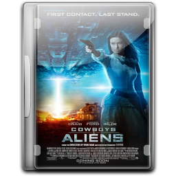 256x256px size png icon of Cowboys Aliens v5