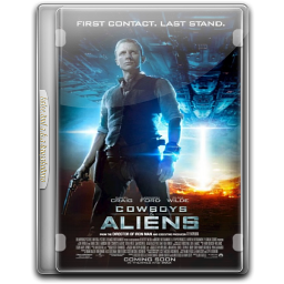 256x256px size png icon of Cowboys Aliens v6