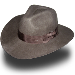 256x256px size png icon of Fedora