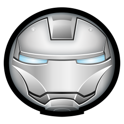 256x256px size png icon of Iron Man Mark II 01