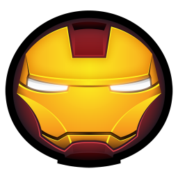 256x256px size png icon of Iron Man Mark III 01