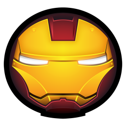 256x256px size png icon of Iron Man Mark IV 01