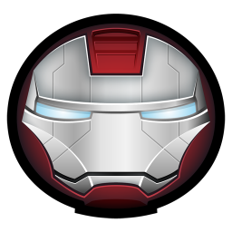 256x256px size png icon of Iron Man Mark V 01