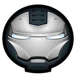 256x256px size png icon of Iron Man War Machine 01
