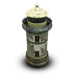 256x256px size png icon of Phare