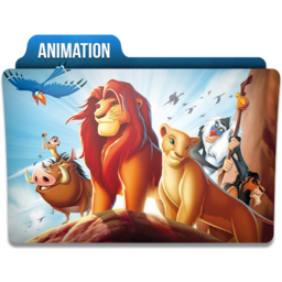 256x256px size png icon of Animation