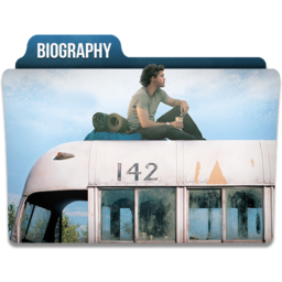 256x256px size png icon of Biography