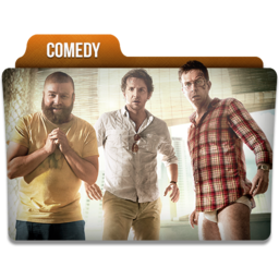 256x256px size png icon of Comedy