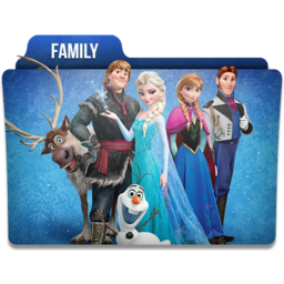 256x256px size png icon of Family