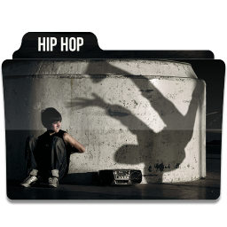 256x256px size png icon of Hip Hop 1