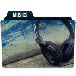 256x256px size png icon of Musics 1