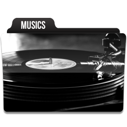 256x256px size png icon of Musics 2