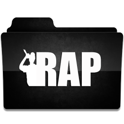 256x256px size png icon of Rap 1