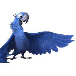 256x256px size png icon of Rio2 Blu 2