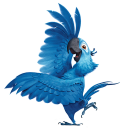 256x256px size png icon of Rio2 Blu 4