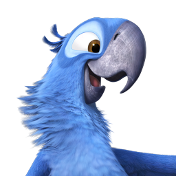 256x256px size png icon of Rio2 Blu