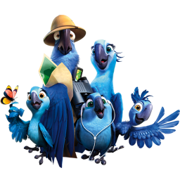 256x256px size png icon of Rio2 Family