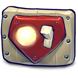 256x256px size png icon of Awesome chest plate