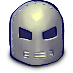 256x256px size png icon of Awsome Classic Helmet