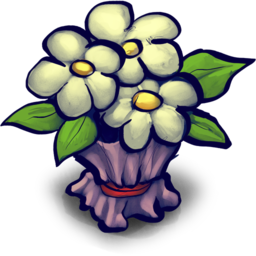 256x256px size png icon of Bouquet