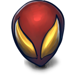 256x256px size png icon of CIVIL WAR Spiderman