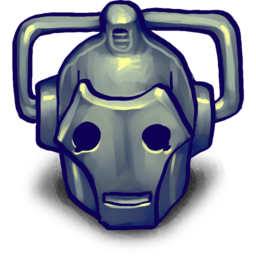 256x256px size png icon of CYBERMAN!!
